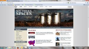 Southern Spaces: An Interdisciplinary Digital Journal