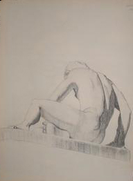 life study nude male no. 3