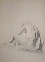 life study nude male no. 3