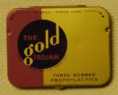 DBM Trojan condom tin blog